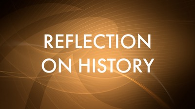 Reflection on history