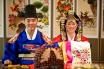 A traditional wedding of South Korea has been demonstrated in Astana