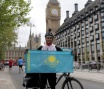 KAZAKH TRAVELERS GO ON BIKE TOUR