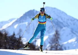 2017 Asian Winter Games: Kazakh biathletes take gold and silver