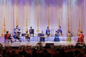Astana hosted traditional folk music concert