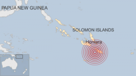 Solomon Islands tsunami warning lifted after powerful 7.8 quake