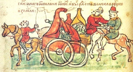 WAS KIMEK CHARIOT THE FIRST FORM OF TRANSPORT?
