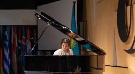 Kazakh Pianist Impressed London's Audience