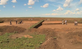 Archaeologists of the Urals have discovered a unique grave construction