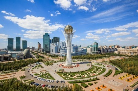 Kazakh Capital Attracts Tourists
