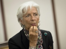 IMF chief says Greece needs to restructure debt and cut interest rates