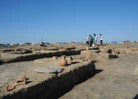 Excavations Resume at Aktobe-Laeti Ancient Town Site