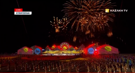 Opening ceremony of the Third World Nomad Games. Full version