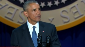 Obama offers optimism - and warnings - in farewell address