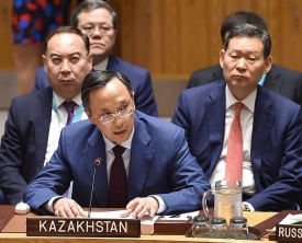 Kazakhstan supported the resumption of the six-party talks on the DPRK