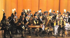 Kuanyshbayev Kazakh State Academic Music and Drama Theatre held an evening of the Kazakh music