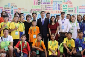 Kazakh Children Living Abroad Came to Nur-Sultan