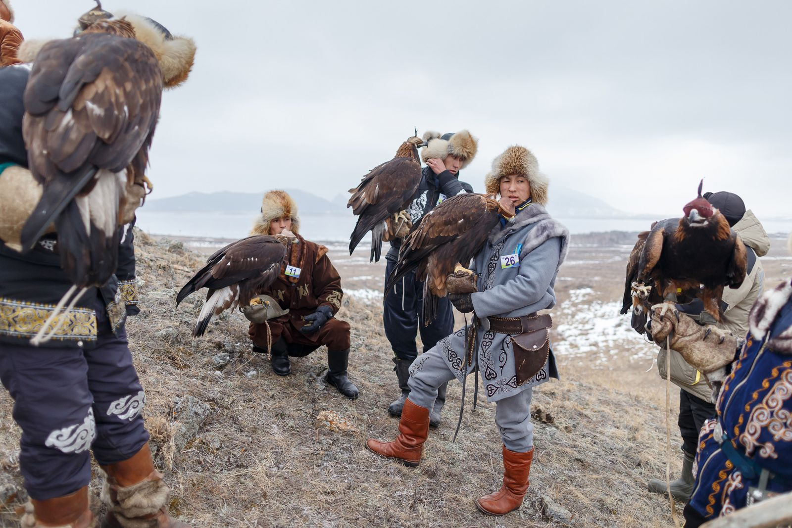 "The traditional eagle hunting tournament ""Kansonar"" has acquired an international status"