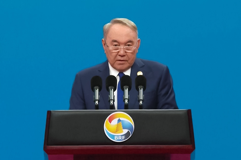 Nazarbayev: Kazakhstan Continues to Support the Belt and Road Initiative