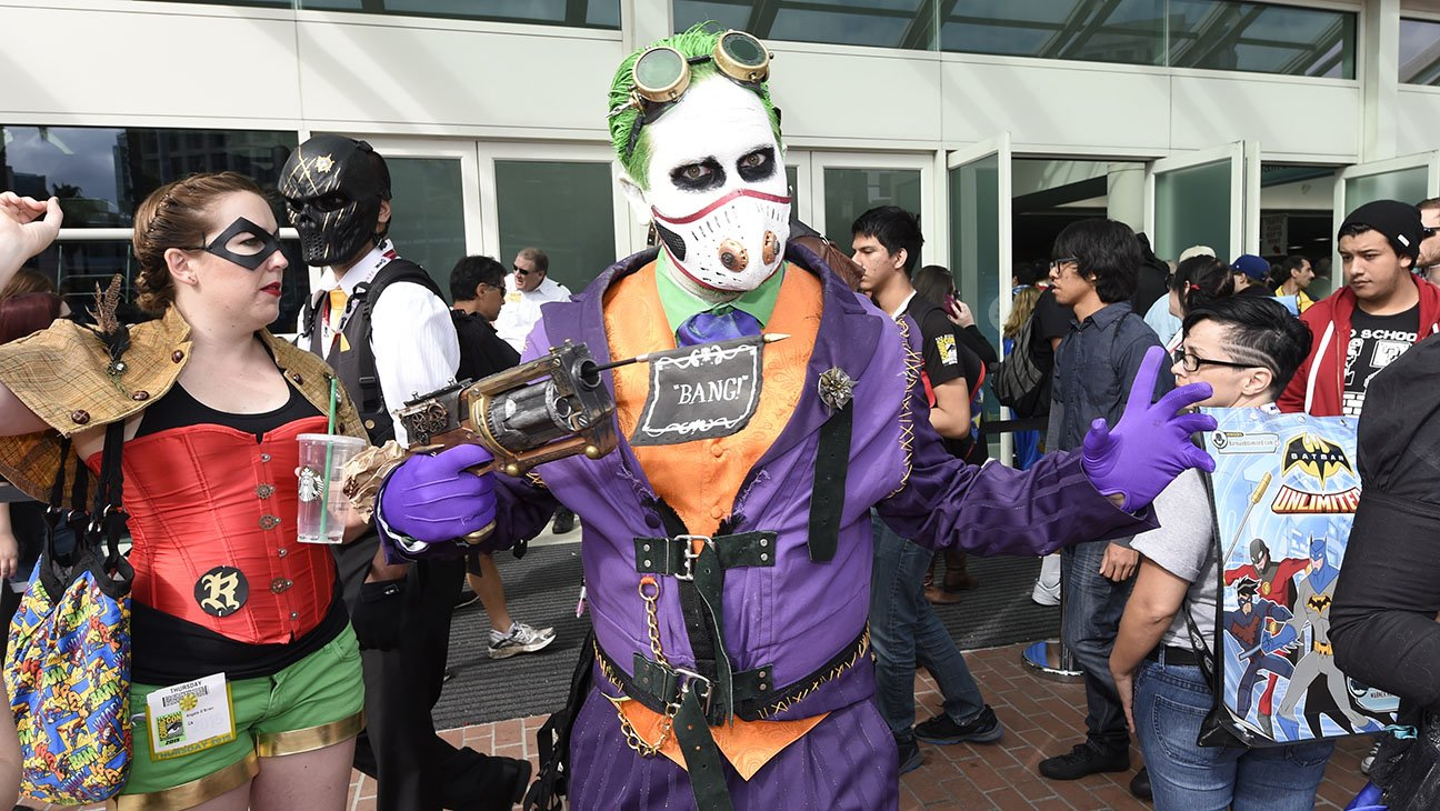 Festival of comics lovers comic-con kicks off in California