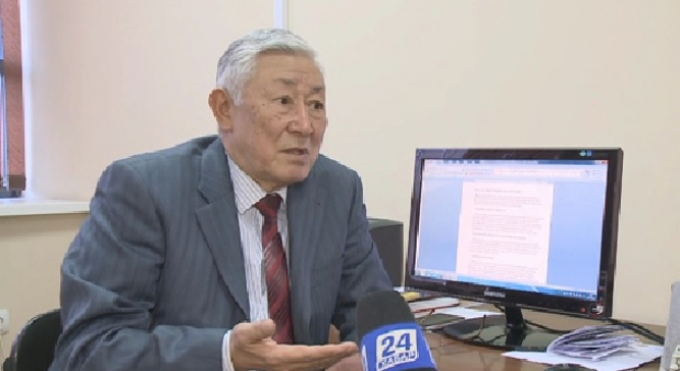 Khabar Agency honors the veterans of the Kazakh television