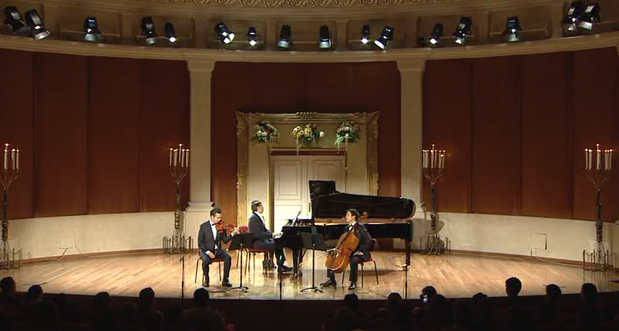"Forte -Trio continues a series of concerts ""Golden Pages of Chamber Music"""