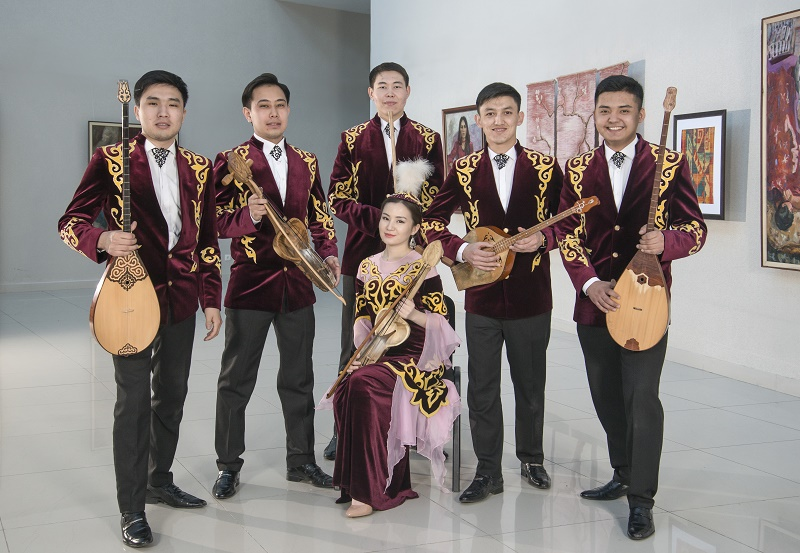 KAZAKH MUSICIANS PERFORM IN SLOVAKIA