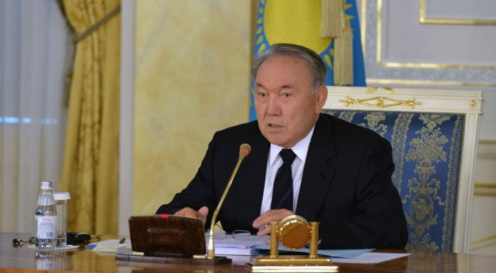DISCUSSION OF KAZAKH PRESIDENT'S ADDRESS
