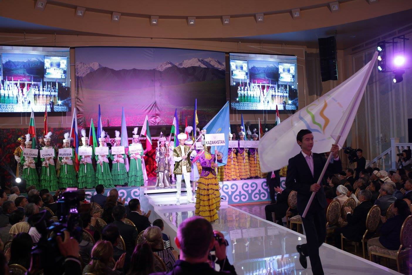 An international festival of ethnic cultures titled The Spirit of Desht-I-Kipchak was held in Astana