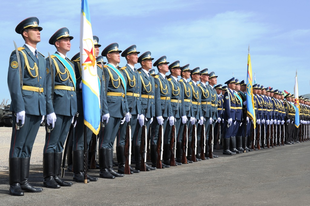 Astana will host a military parade for the 25th anniversary of Kazakhstan Armed Forces
