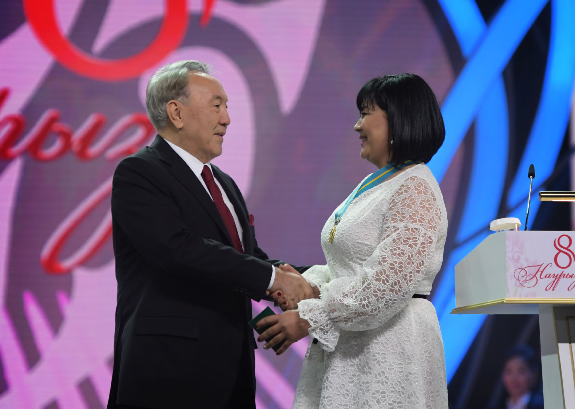 Kazakhstan President's congratulation on International Women's Day