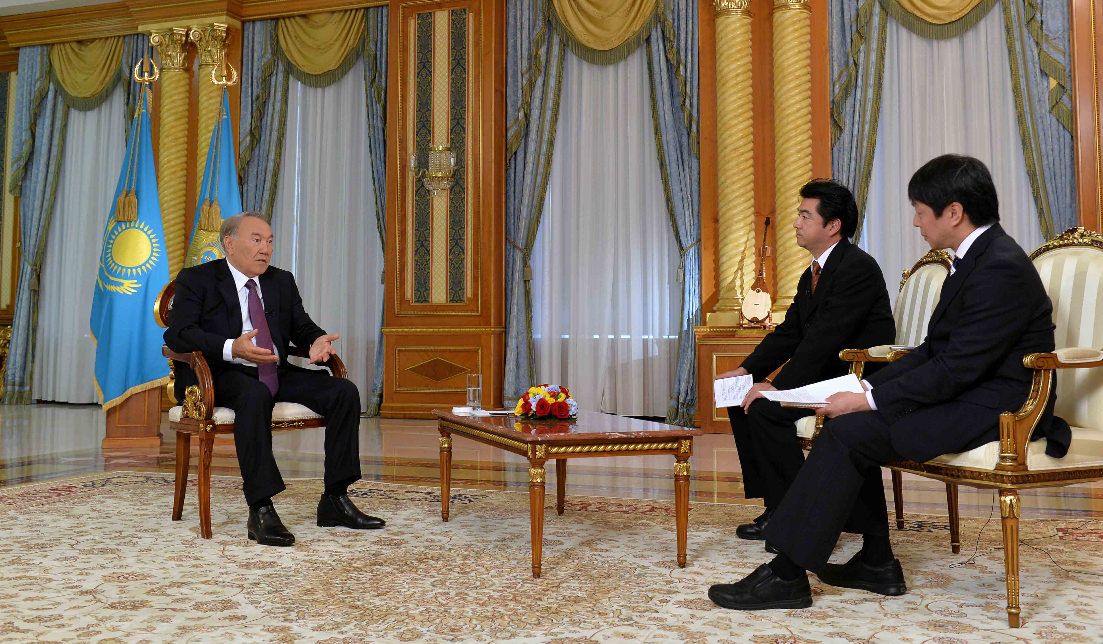 President Nazarbayev shares candid opinion of Russia-Japan relations