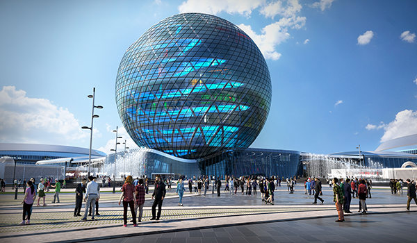Over 600,000 people have already visited the EXPO 2017