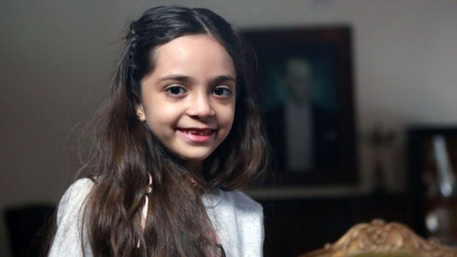 Bana Alabed: Syrian tweeting girl pens letter to Trump