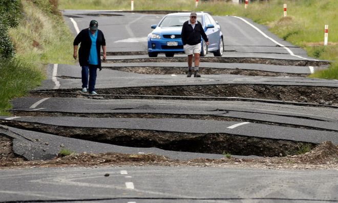 New Zealand hit by second strong quake
