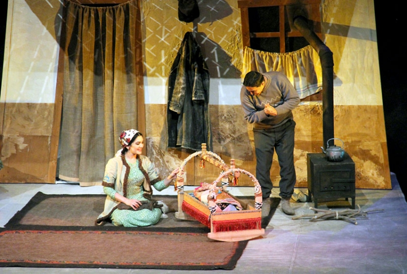 KUANYSHBAYEV THEATRE STAGES NEW PREMIERE