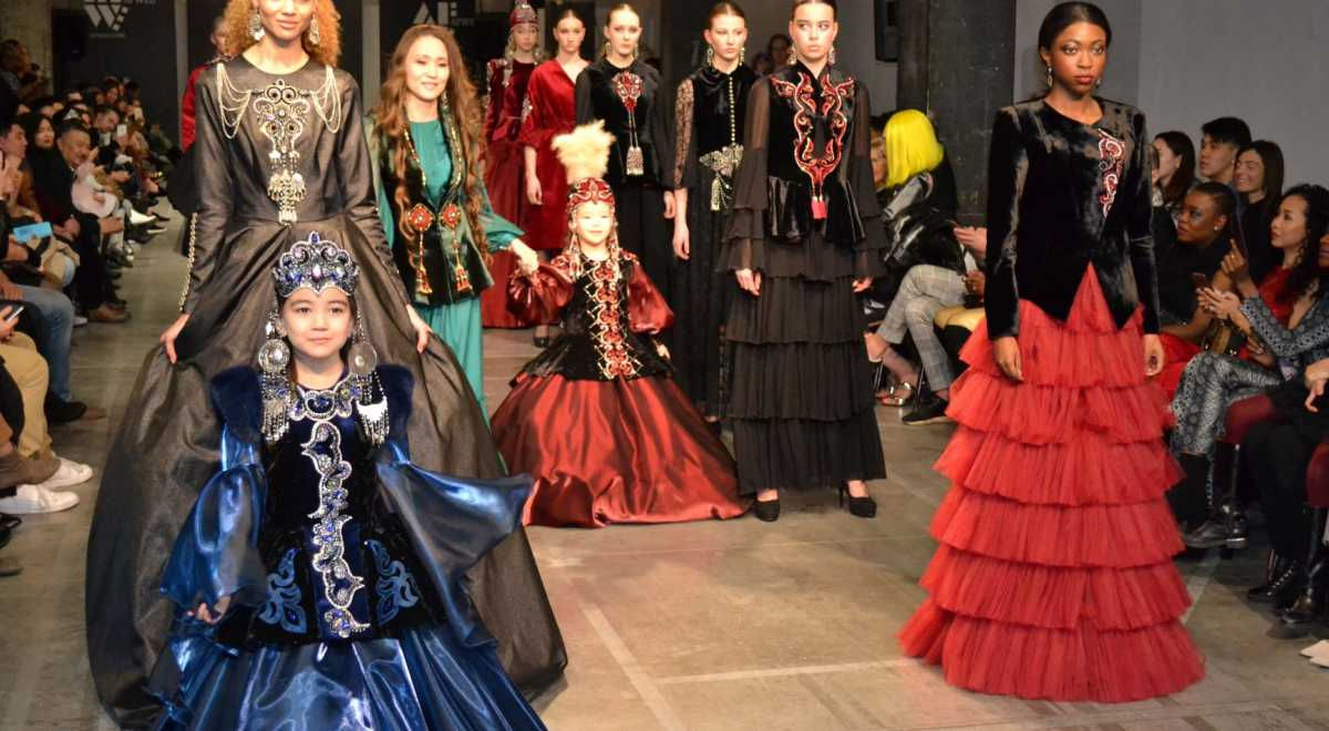Kazakh Designers Presents Their Collection at Fashion Week in Amsterdam