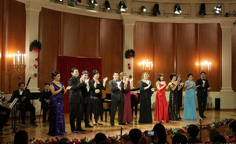 Astana Opera presented a classical music evening for art connoisseurs