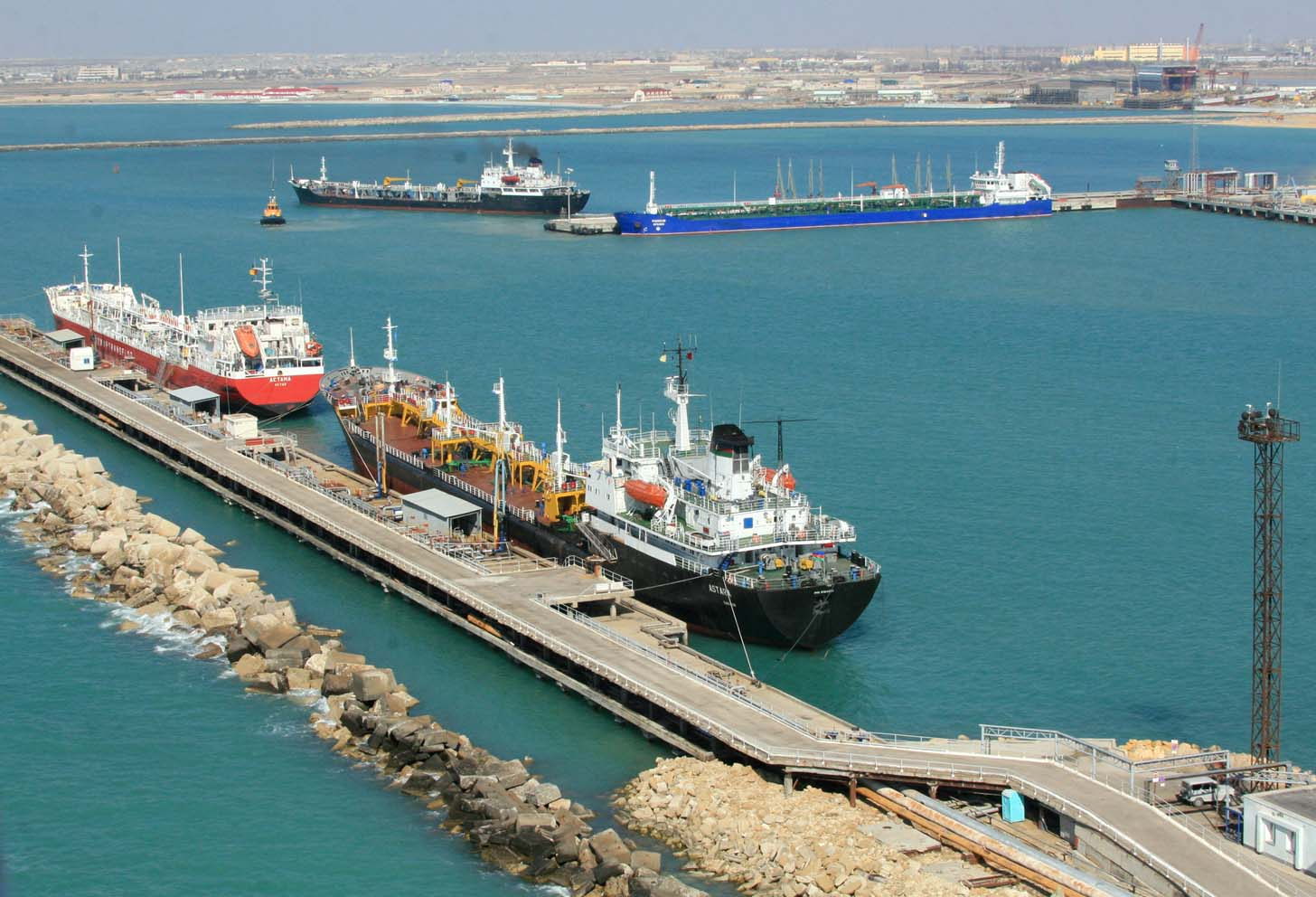 Lianyungang Port to Expand Opportunities of Trans Caspian Transport Route
