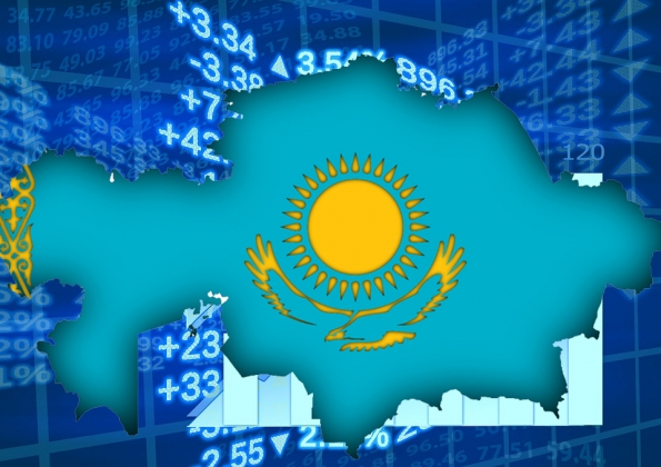 MOODY'S CHANGES OUTLOOK ON KAZAKHSTAN'S RATING TO STABLE
