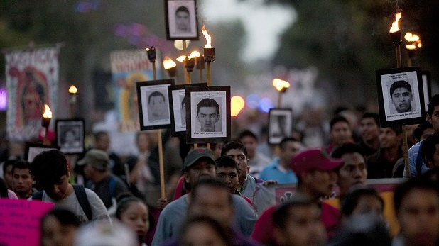 Mexico arrests three more in disappearance of 43 students