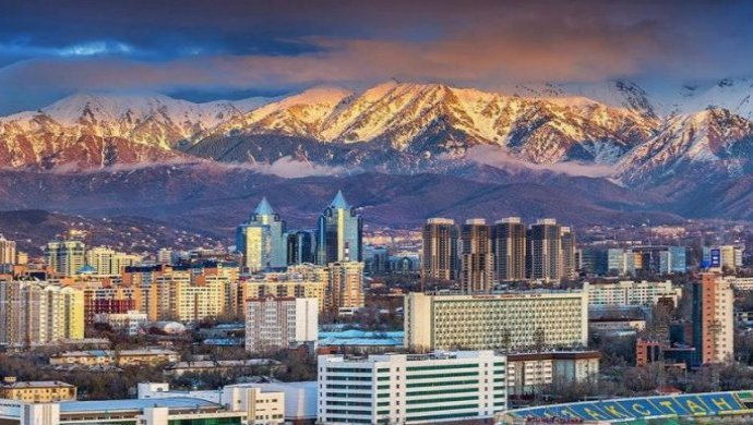 Almaty - business center of Eurasian Economic Union