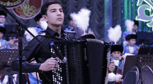 YOUNG KAZAKH ACCORDIONIST TAKES PART IN PRESTIGIOUS FESTIVAL