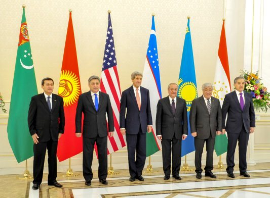 The United States is interested in strengthening cooperation with the Central Asian countries