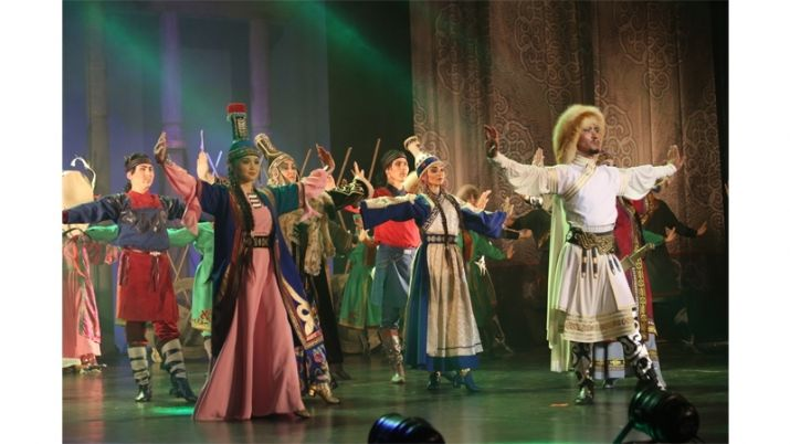'Genghis Khan' Choreographic Play Was Premiered in Kazakh Capital