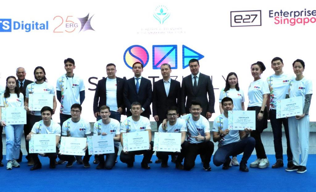 10 Teams Selected to Present in Singapore under the Smart Zholy Acceleration Program