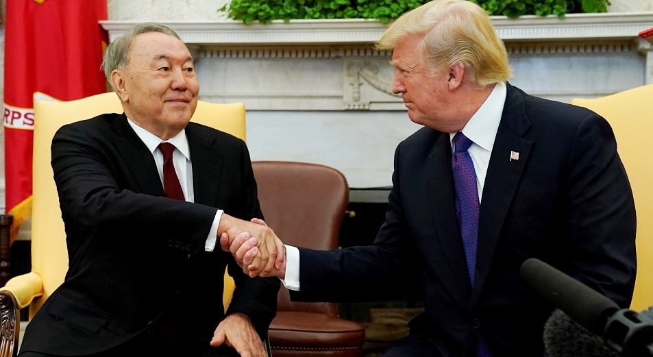Nursultan Nazarbayev pays official visit to U.S.