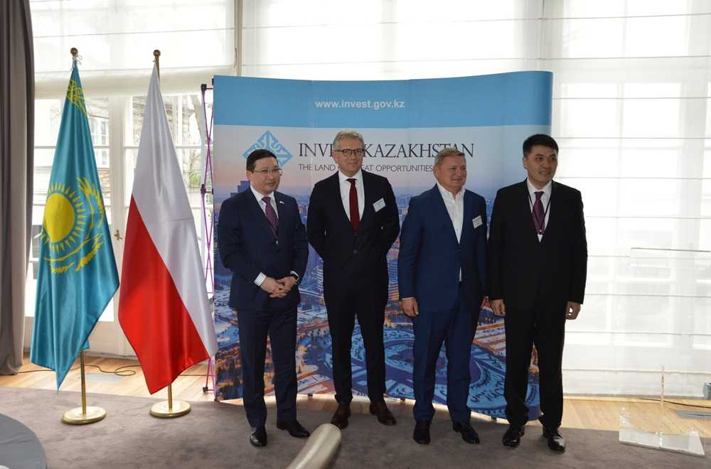Poland Interested to Invest in Several Sectors in Kazakhstan