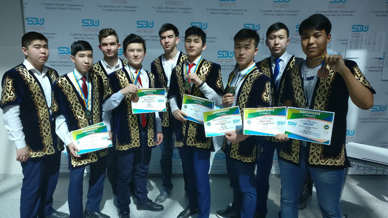 Suleyman Demirel University hosted the sixth international computer project competition, INFOMATRIX-ASIA