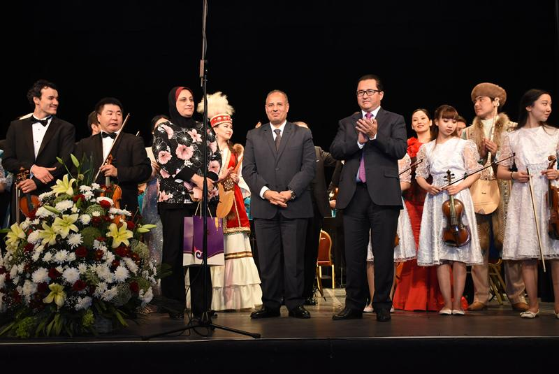 Cultural cooperation between Kazakhstan and Egypt