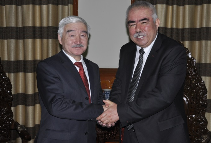 Kazakhstan is interested in resolving the situation in Afghanistan