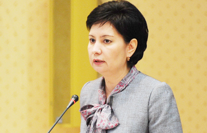 Kazakh Secretary of state Abdykalikova meets with U.S. under Secretary of State Sarah Sewall