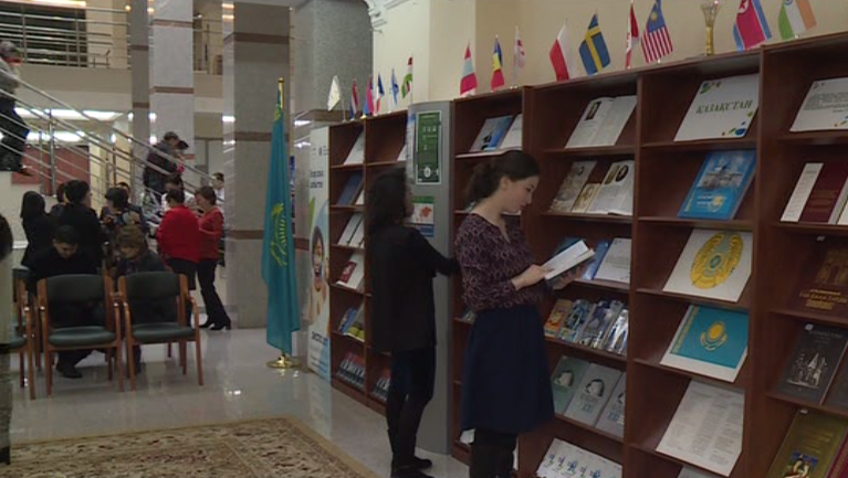Book fair ahead of EXPO 2017 opens at National Academic Library