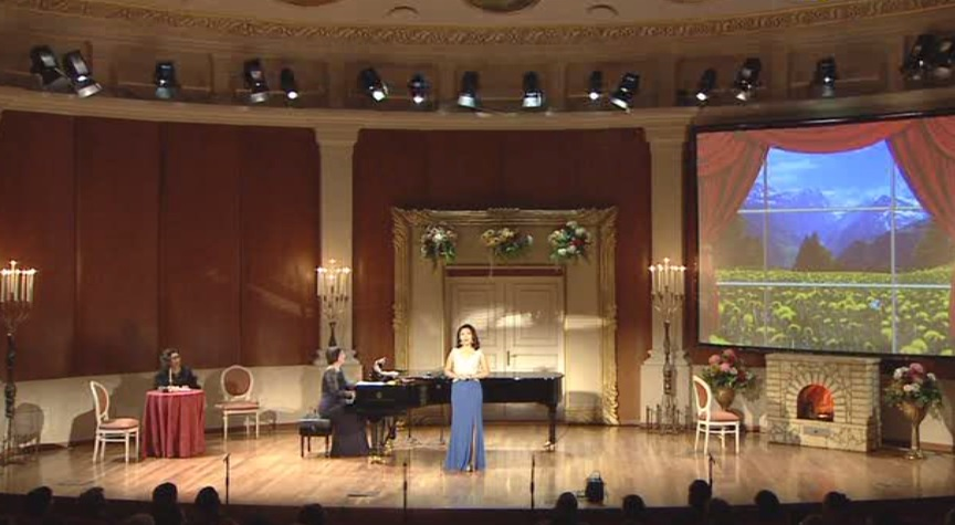 Evening of romance held in Astana Opera